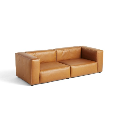 MAGS SOFT SOFA 2,5-SEATER - SILK LEATHER 0250 (COMBI 1)
