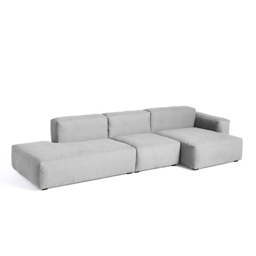 MAGS SOFT LOW SOFA 3-SEATER - LINARA 443 (COMBI 4R)