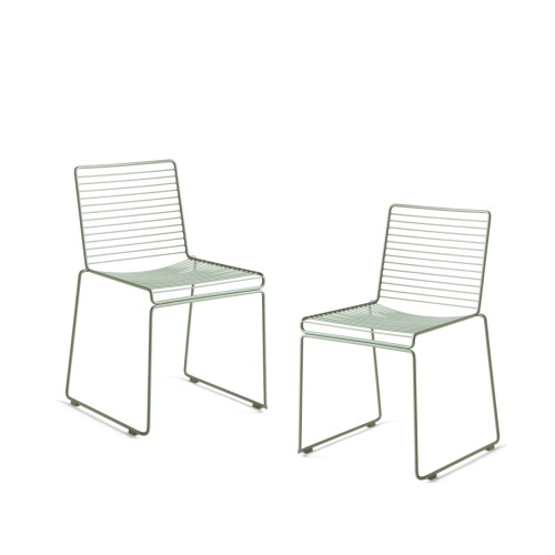 HEE DINING CHAIR - 2PCS FALL GREEN