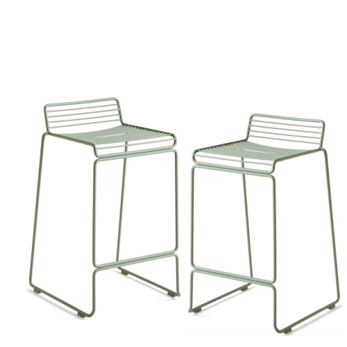 HEE BAR STOOL - 2PCS FALL GREEN