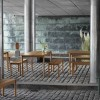 MUUTO LINEAR SET TABLE 140CM + 2 BENCHES