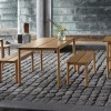 MUUTO LINEAR SET TABLE 200CM + 2 BENCHES
