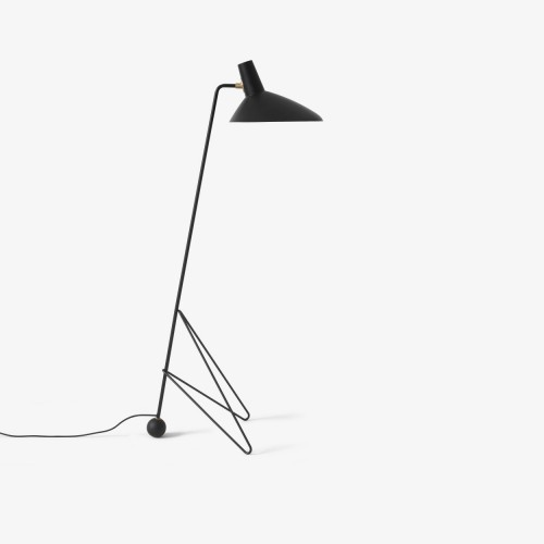 TRIPOD HM08 FLOOR LAMP - BLACK