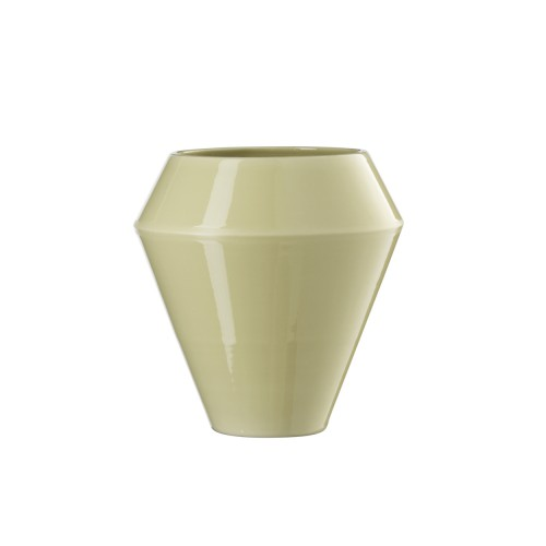 RIMM VASE LARGE YELLOW