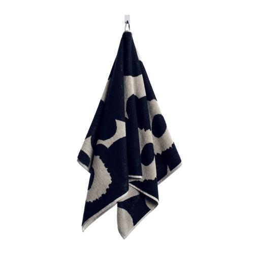 UNIKKO HAND TOWEL 50X100CM BLACK