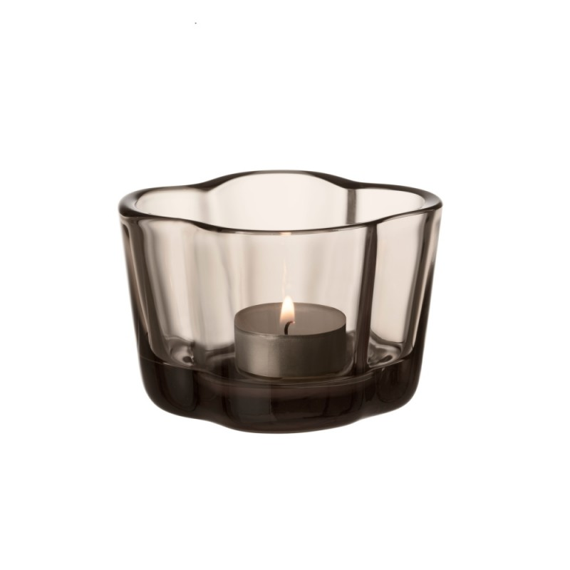 AALTO CANDLE HOLDER 60MM LINEN