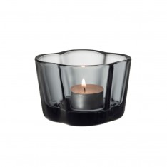 IITTALA AALTO CANDLE HOLDER 60MM GREY