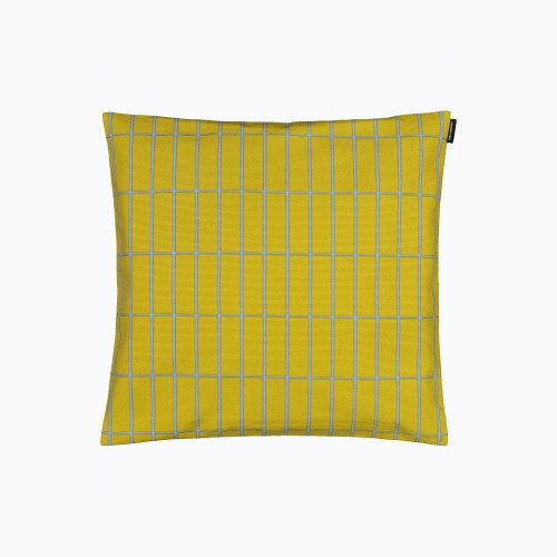TIILISKIVI CUSHION COVER 40X40CM YELLOW