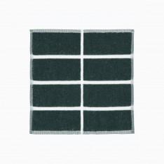MARIMEKKO TIILISKIVI GUEST TOWEL 30X30CM DARK GREEN