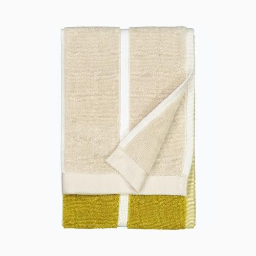 TIILISKIVI GUEST TOWEL 30X50CM YELLOW/BEIGE