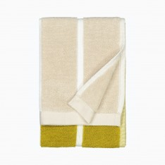 MARIMEKKO TIILISKIVI GUEST TOWEL 30X50CM YELLOW/BEIGE