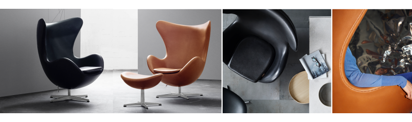 EGG CHAIR IN LEATHER DEAL