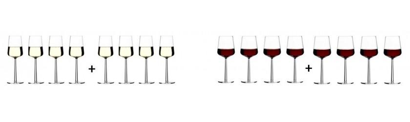 4+4 ESSENCE GLASSES