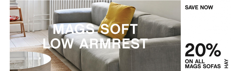 HAY MAGS SOFT LOW SOFA -20%